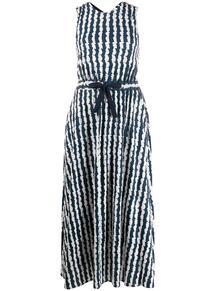 платье с графичным принтом и открытой спиной Chinti And Parker 1477698377