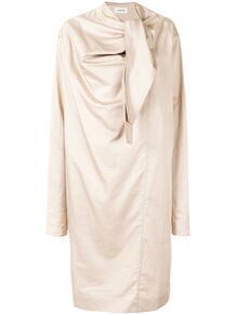 платье миди с драпировкой LEMAIRE 160803975154