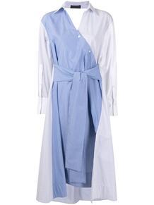 платье-рубашка со вставками EUDON CHOI 1623959856