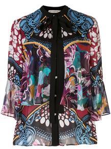 блузка Milana с цветочным принтом MARY KATRANTZOU 1523587456