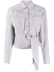рубашка в полоску с завязкой IRO 147342805154