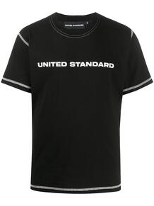 футболка с круглым вырезом и логотипом UNITED STANDARD 1523735583