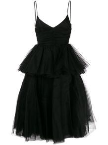расклешенное платье из тюля BROGNANO 143871005156