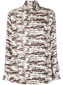 рубашка с камуфляжным принтом Victoria Beckham 134768124948