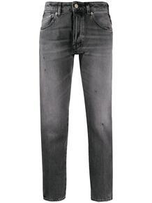 джинсы скинни с лампасами GOLDEN GOOSE 145021255056