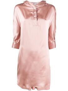 платье со сборками и рукавами три четверти TEIJA 148476884948