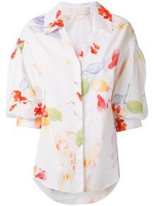 рубашка с цветочным принтом Peter Pilotto 147953234948