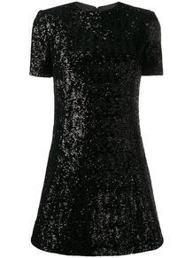 платье с пайетками Yves Saint Laurent 143580015156