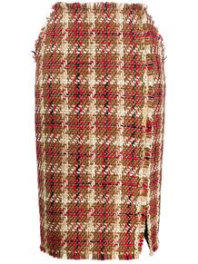 твидовая юбка-карандаш Versace 145713835250