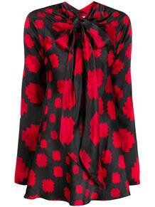 блузка с бантом и принтом Marni 144026165248
