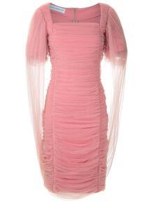 платье из тюля с драпировкой GLORIA COELHO 143164565252