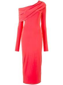платье на одно плечо LAPOINTE 1560166352