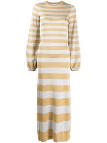 трикотажное платье в полоску с блестками BELLA FREUD 1538393577