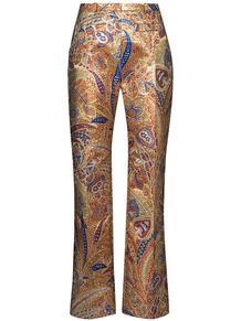 брюки прямого кроя с принтом пейсли Paco Rabanne 153599565156