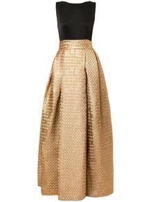 пышное жаккардовое платье Paule Ka 145802385250