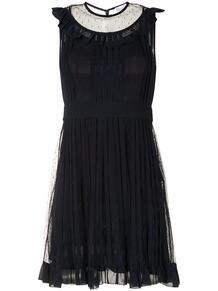 платье из тюля RED VALENTINO 157758775156