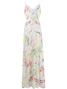 платье-комбинация с узором Missoni 153937325252