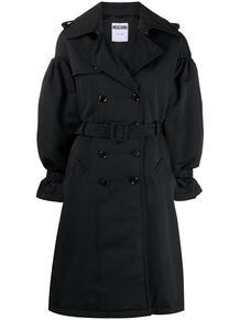 двубортное пальто с поясом Love Moschino 158882745156