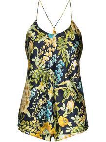 пижама Bella Debauchery с цветочным принтом Olivia Von Halle 159669928883