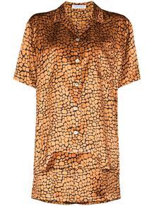 пижама Emeli с леопардовым принтом Olivia Von Halle 159666798883