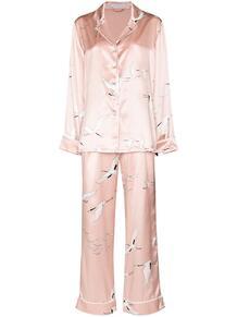 пижама с принтом Olivia Von Halle 1596691076