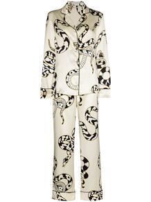 пижама Lila Sassoon с принтом Olivia Von Halle 159666338883
