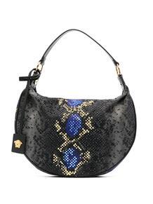сумка-хобо со змеиным принтом Versace 15985505636363633263