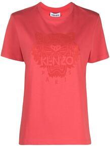 футболка с принтом Tiger Kenzo 1617783876