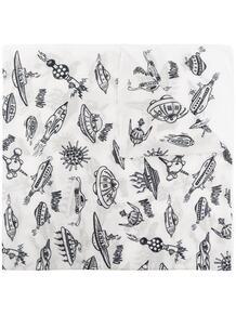 шарф с принтом Love Moschino 16245018636363633263