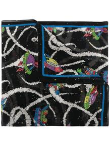 шарф с принтом Love Moschino 16245016636363633263