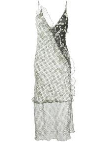 платье-комбинация с принтом BRØGGER 1540787076