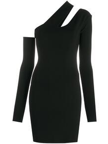 приталенное платье мини асимметричного кроя NANUSHKA 15633875888883