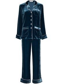 бархатная пижама Coco Olivia Von Halle 1597141583