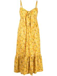 платье миди с цветочным принтом L'Autre Chose 163662715252