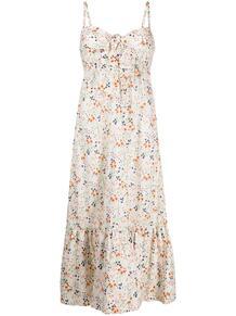платье миди с цветочным принтом L'Autre Chose 163662695252