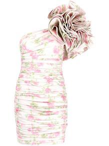 платье на одно плечо с оборками Love Moschino 162070445248