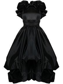 атласное вечернее платье асимметричного кроя ZUHAIR MURAD 162062845152