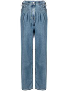 прямые джинсы со складками MSGM 161548245254