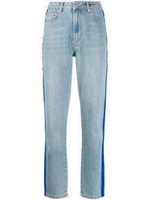 джинсы Tara с бархатными лампасами Fiorucci 144663215052