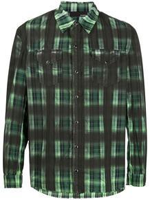 клетчатая рубашка B-USED 1522173083