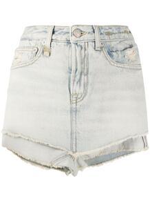 многослойные джинсовые шорты Ashlyn R13 151603485055