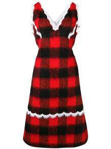 платье в клетку CALVIN KLEIN 205W39NYC 134276765252