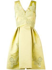 расклешенное платье с вышивкой ZUHAIR MURAD 137120785154