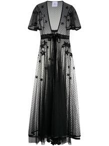 прозрачное платье с вышивкой Annamode 152225635248
