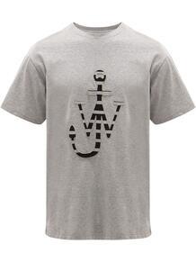 футболка с логотипом JW Anderson 1541947683