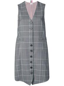 платье в клетку Windowpane Thom Browne 135590775250