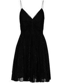 платье мини из ткани филькупе Yves Saint Laurent 153779795154