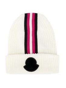 шапка бини в полоску Moncler Enfant 1557288676