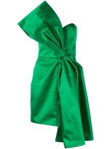 атласное платье с бантом Paule Ka 139381815250