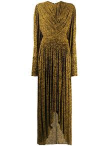 длинное платье с драпировкой Isabel Marant 142765435152